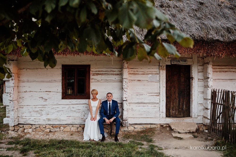 Monika i Arek  |  Letnie przyjęcie weselne w Tokarni.